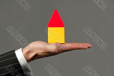 symbolical model of  house