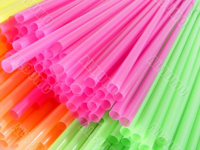 color cocktail straws