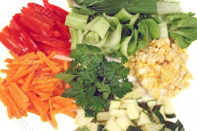 Garden Fresh Stirfry Vegetables