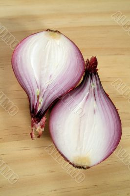 Red Onion Halves