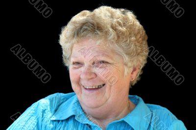 Joyful Senior Lady