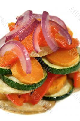 Roasted Vegetable Stack 2
