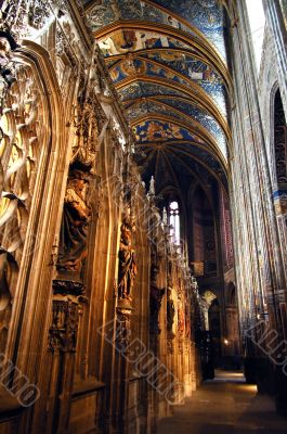 Albi - Interior of the cathedral