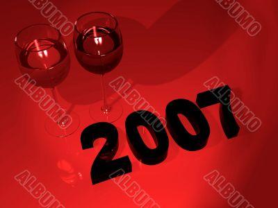 2007 new year celebration