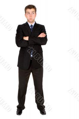 bored business man
