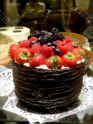 Gourmet Chocolate Cake