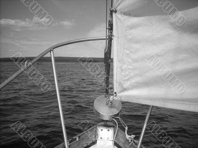 Sailing 1 w b