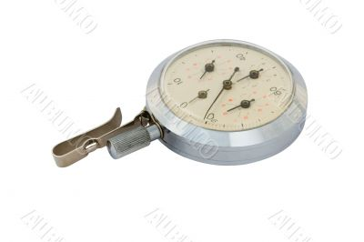 The antique mechanical pedometer