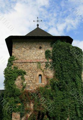 The monastery Moldovita in Romania