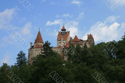 The castle Bran in Romania