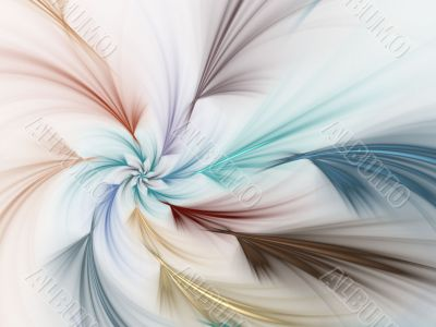 Fractal Abstract Background - Layered spiral