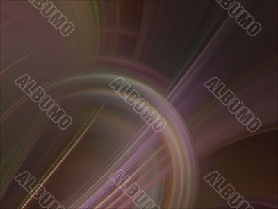 Digital Abstract Background - Arching fibers