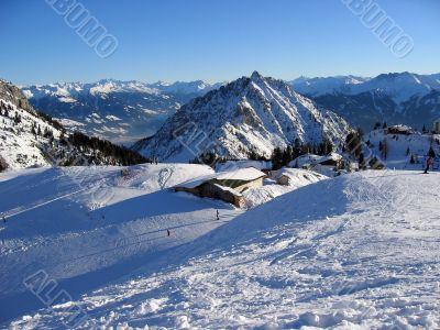 Winter holidays in Alps