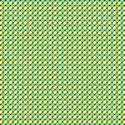 Green Yellow Weave