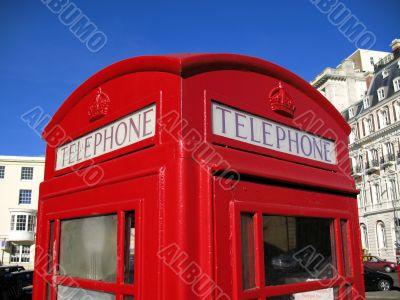 telephone box detail