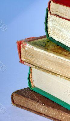 detail of antiquarion books