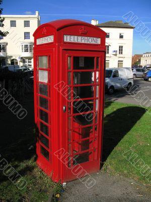 red telephone kiosk