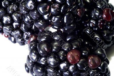 Macro close-up of blackberry 1