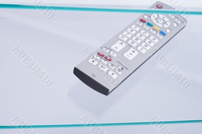 Remote control with colored buttons