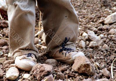 Children in the dirt - south america