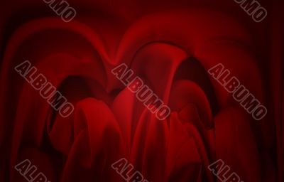 creased textile background