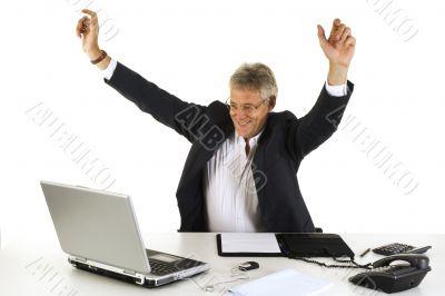 Happy CEO