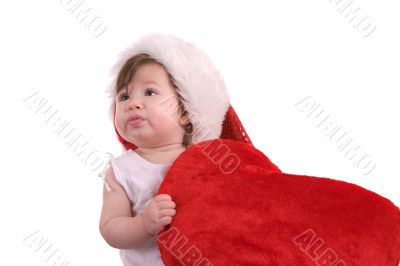 Baby`s first christmas