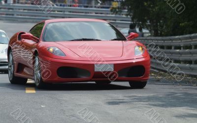 Red, Italian sports car