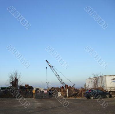 Industrial Scrap Yard