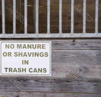No Manure