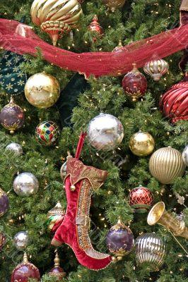 Elf Boot Christmas Tree