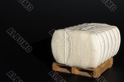 Cotton Bale on a Pallet