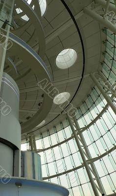modern futuristic interior elements