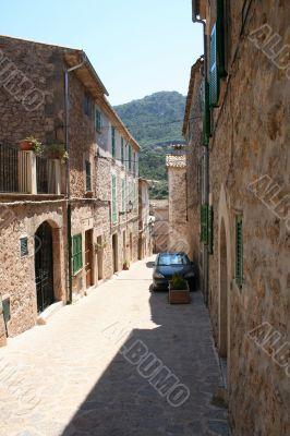 Narrow silent street