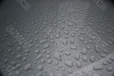 Colorless waterdrops texture detailed background