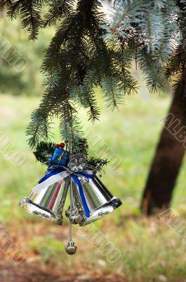 Outdoors Christmas tree decoration