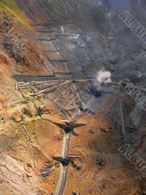 mining area v