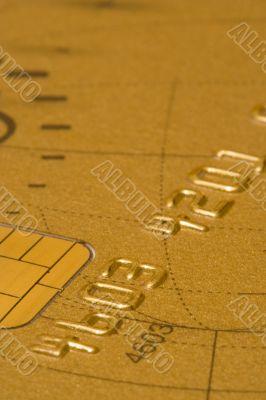 gold Credit Card (soft focus)