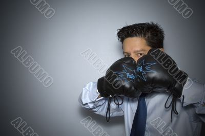 Boxing in business
