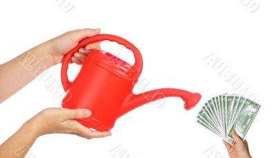 Watering my money