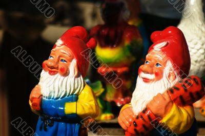 Clay gnomes