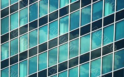 business window building
