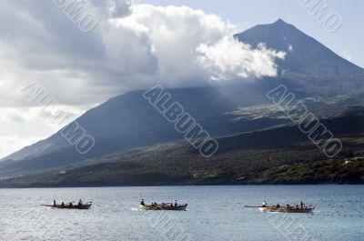 Row boat race