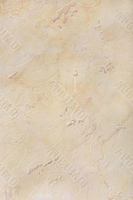 Darkly yellow plaster