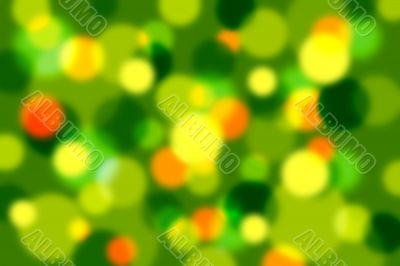 Defocused abstract sparkling lights background
