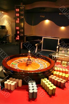 Roulette with a ball