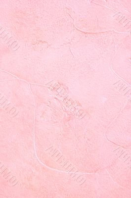 Light pink plaster
