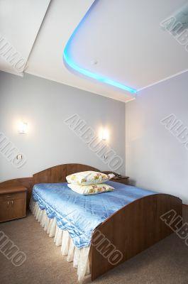 bedroom to modern hotel