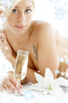 relaxation with snowflakes 2