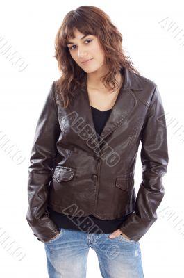 attractive fashion girl